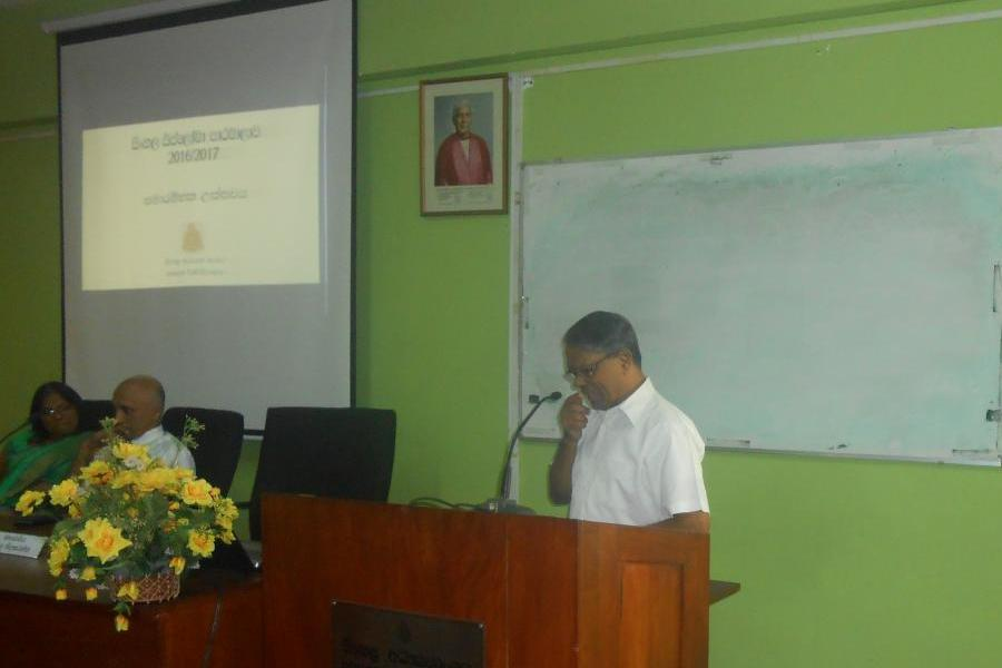 Inauguration Ceremony of Diploma in Sinhala – 2016