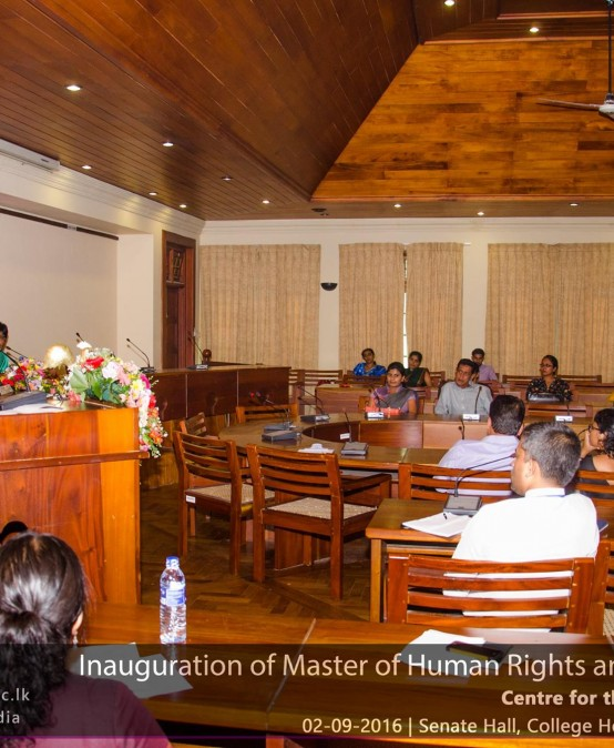 Inauguration: Master of Human Rights and Democratisation (Local) programme – 2016/2017