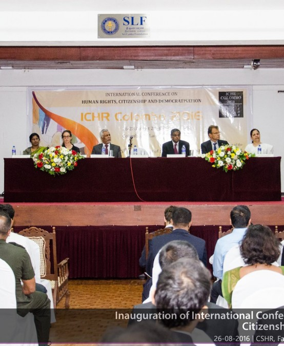 International Conference on Human Rights, Citizenship and Democratisation ICHR Colombo 2016