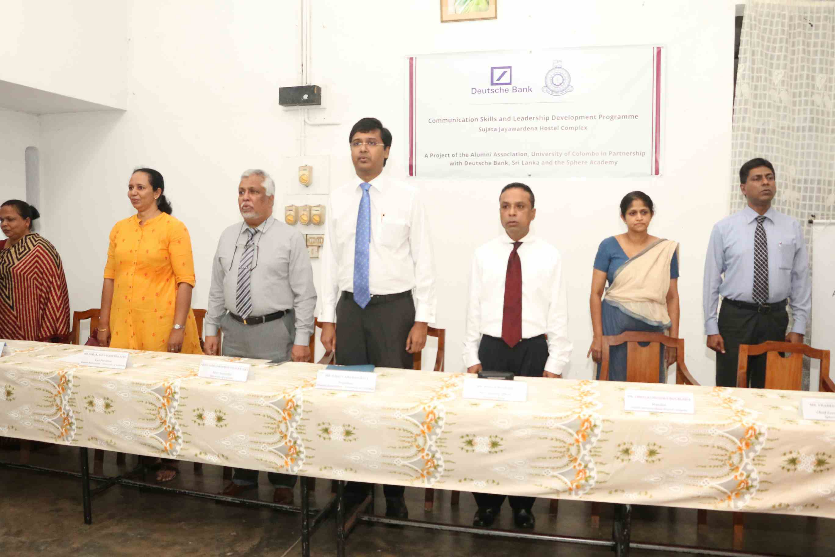 Inauguration of the Communication Skills and Leadership Programme