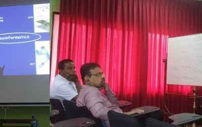 """Guest Lecture on """"Indian Space Programme and Societal Benefits"""""""