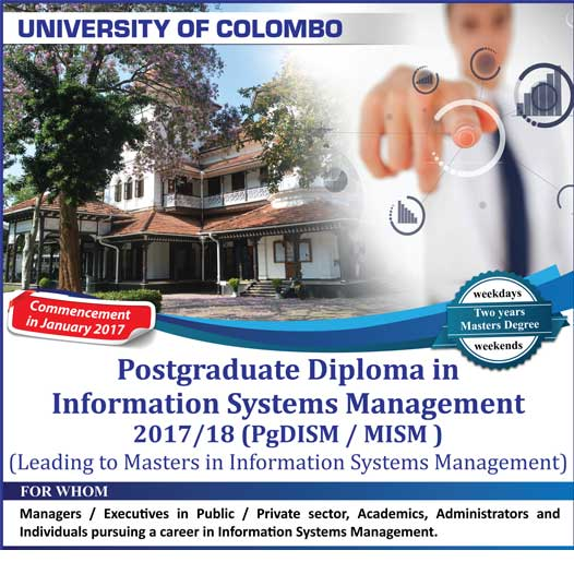 Postgraduate Diploma in Information System Management
