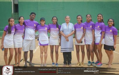 Inter University Tennis Tournament 2018