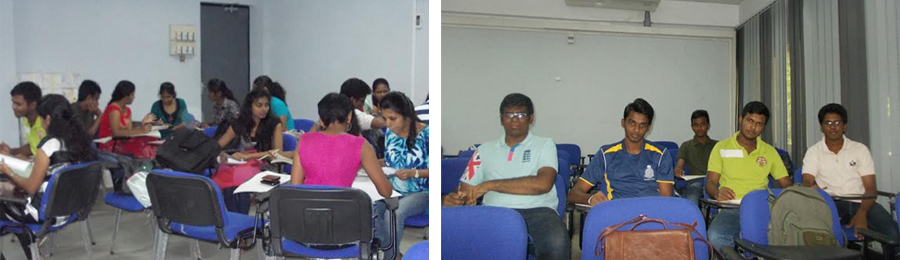 Mini auditorium renovated under HETC/UDG at ELTU is very useful to conduct interactive sessions