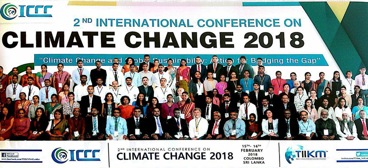 2nd International Conference on Climate Change (ICCC 2018)