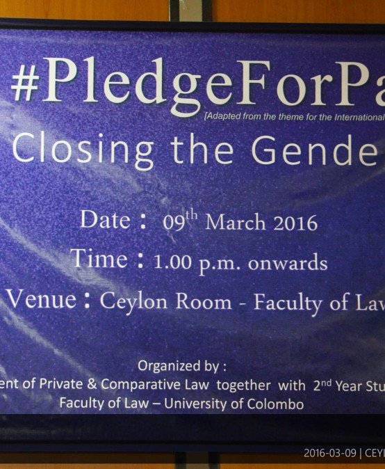 International Women's Day – Faculty of Law