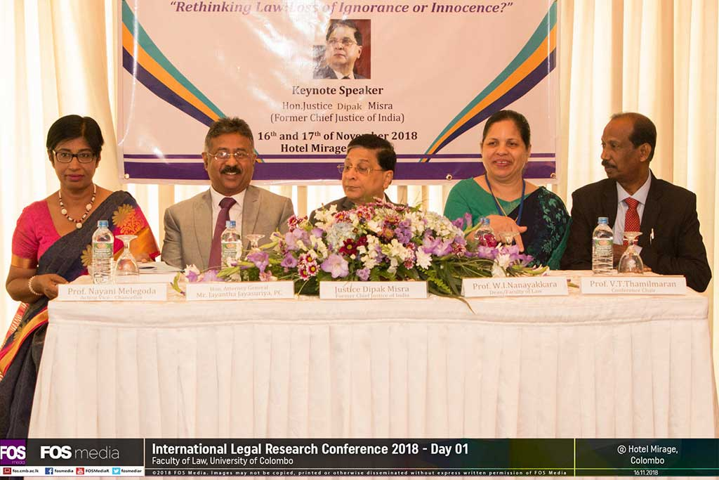 International Legal Research Conference (ILRC) 2018