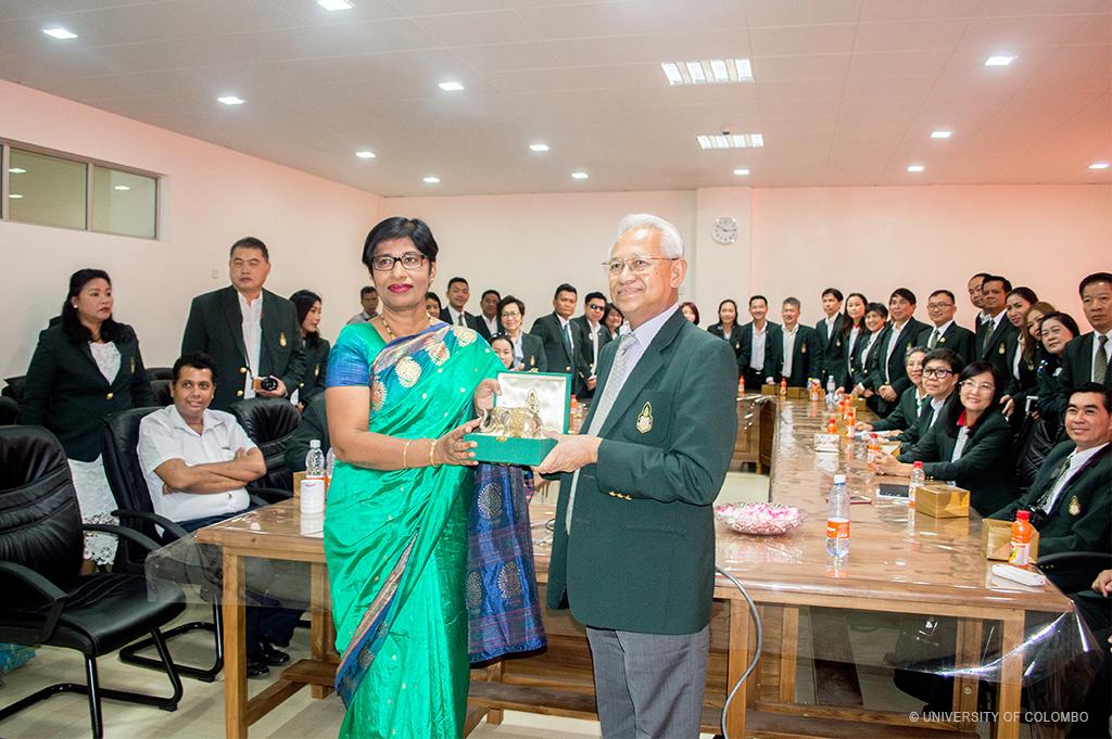 King Prajadhipok's Institute visited University of Colombo