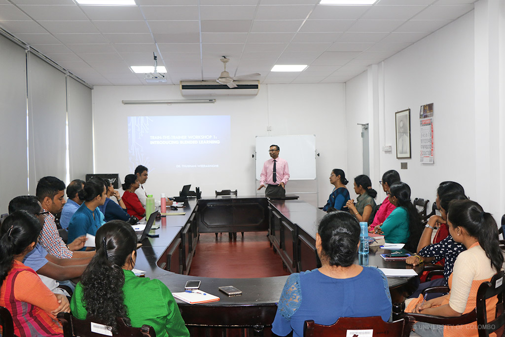 Launch of the Train-the-Trainer Blended Leaning Workshop at the Faculty of Law