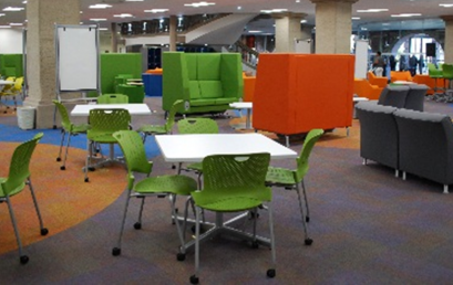 """Opening of the """"Learning Commons"""" in the Main Library"""