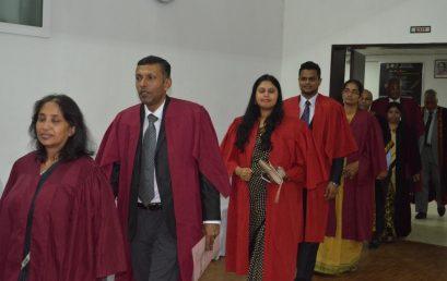 MBA (Weekend) Programmes 2016/2018 Inauguration