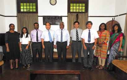 National Central University, Taiwan to collaborate with University of Colombo