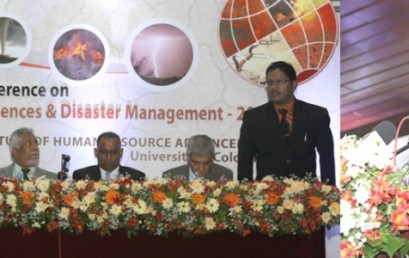 National Conference on Geospatial Sciences and Disaster Management
