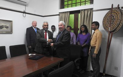 Delegation from Northumbria University visited University of Colombo