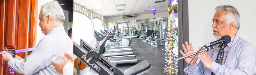 Opening ceremony of Fitness Centre – University of Colombo