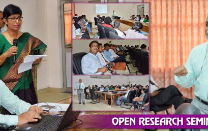 Open Research Seminar