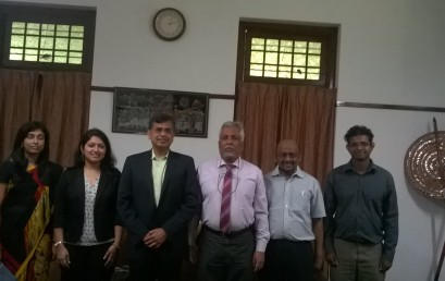 Orion India visits University of Colombo