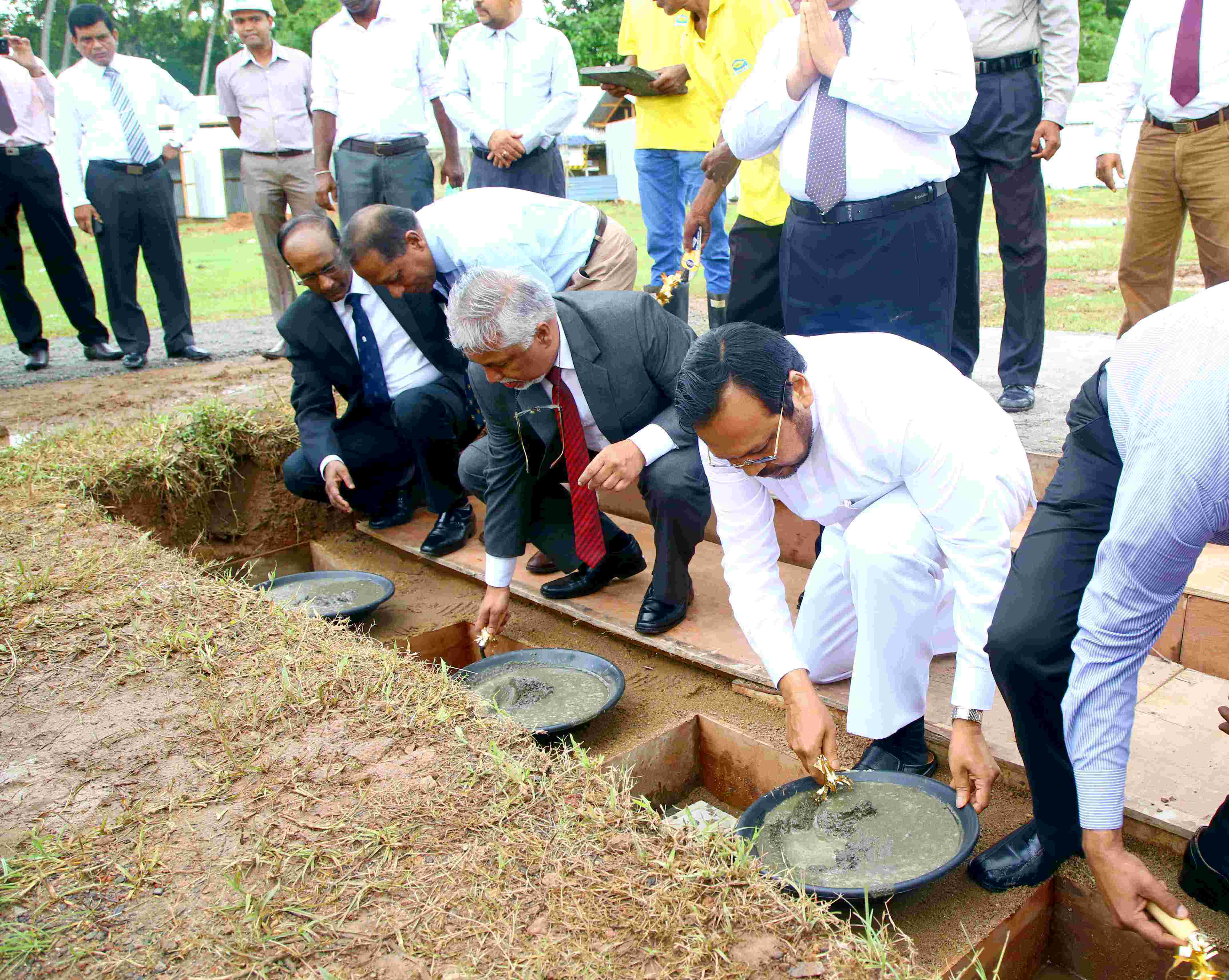 Ceremonial laying of the foundation for PGIM Academic Building
