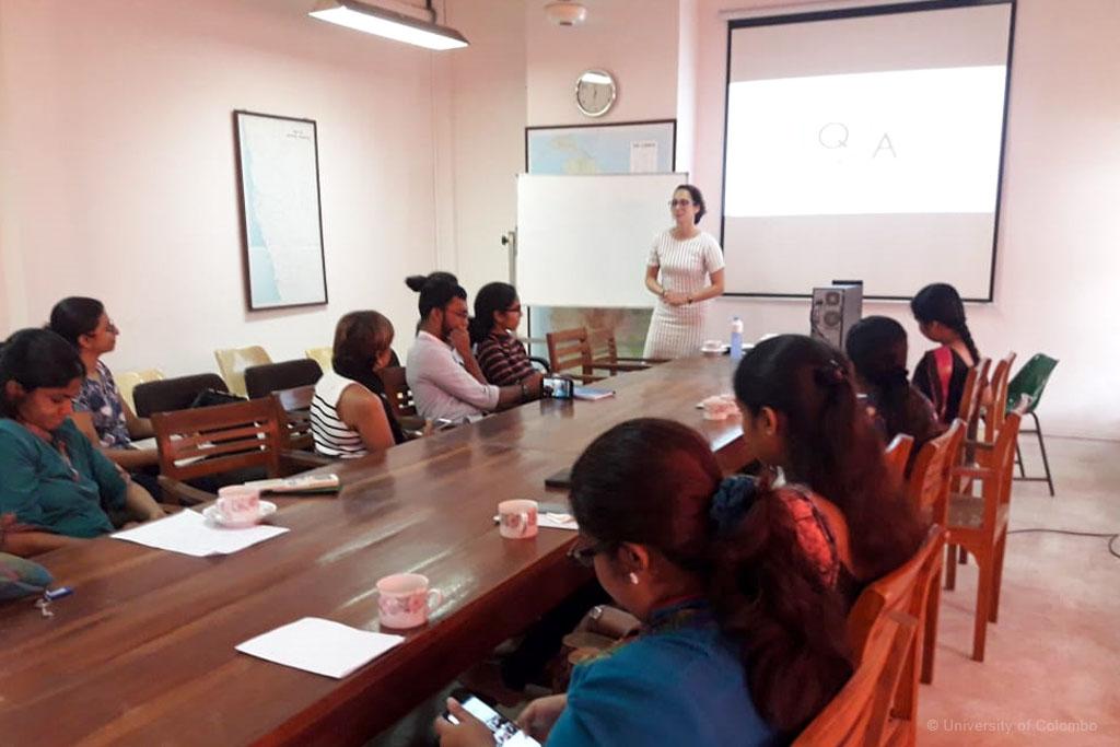 """Seminar on """"Participatory Theatre for Reconciliation in Post-war Sri Lanka"""""""