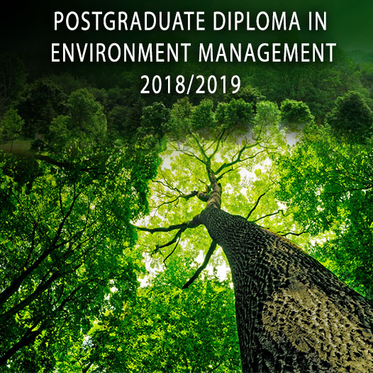 Postgraduate Diploma in Environment Management (PgDEM) 2018/19