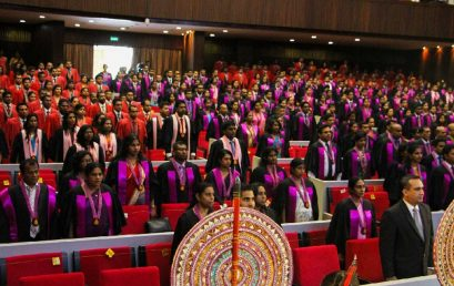 Postgraduate Convocation – 23 & 24 November,2017