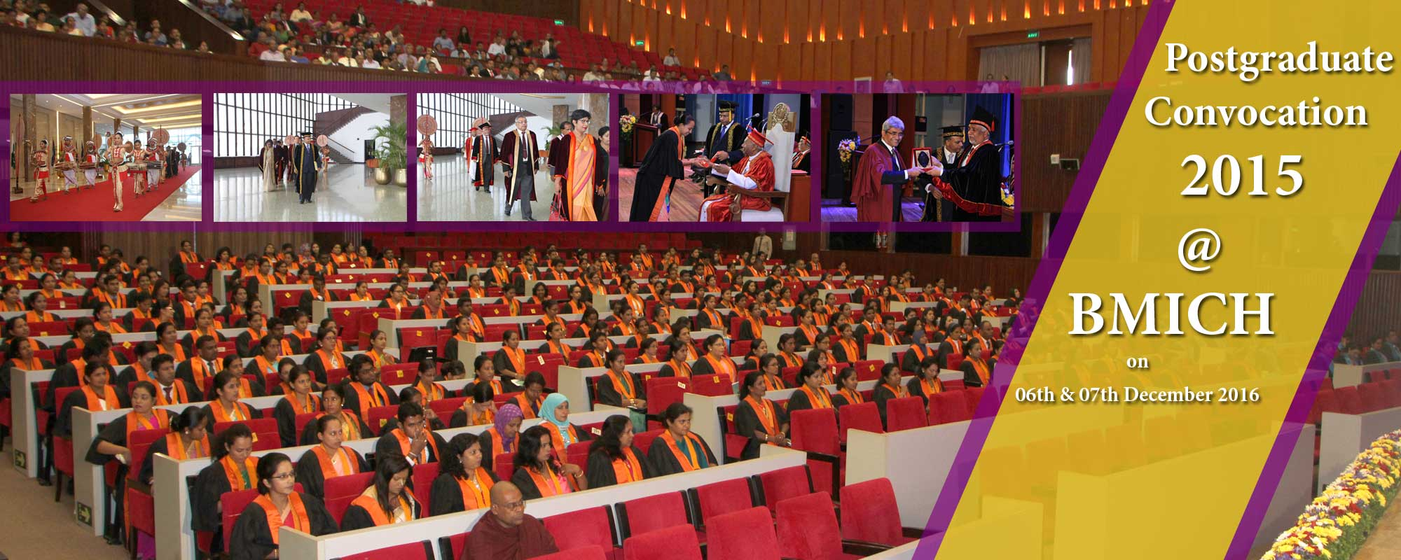 Postgraduate Convocation 2015