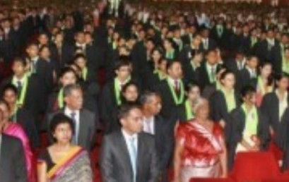 Postgraduate Convocation – 2012