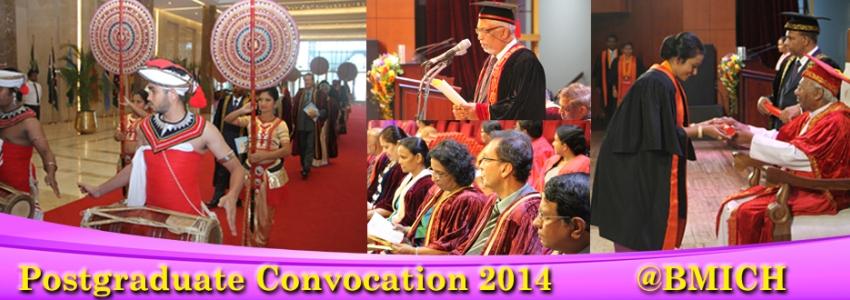 Postgraduate Convocation 2014