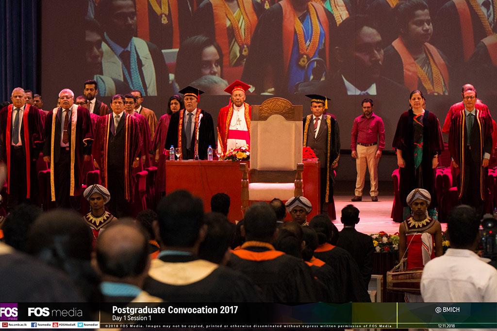Postgraduate Convocation 2017