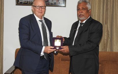 Deputy Vice Chancellor,  QUT visits University of Colombo