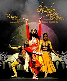 """Ravana: The Legend Untold"" Inaugural public performance"