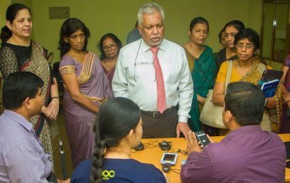 Opening of Resources Center for Visually Impaired Users