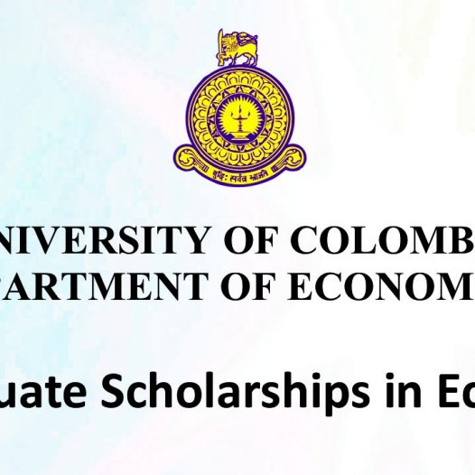 Postgraduate Scholarships in Economics – 2018
