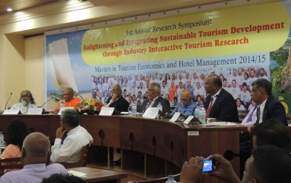 An Industry-Interactive Annual Research Symposium of Tourism Economics and Hotel Management