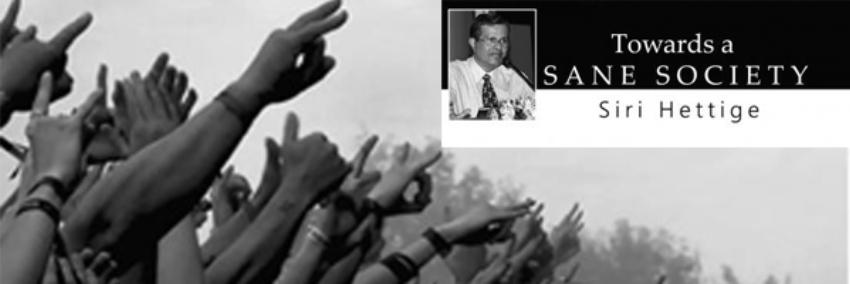 Launch of Professor Siri Hettige's Latest Publication 'Towards a Sane Society'