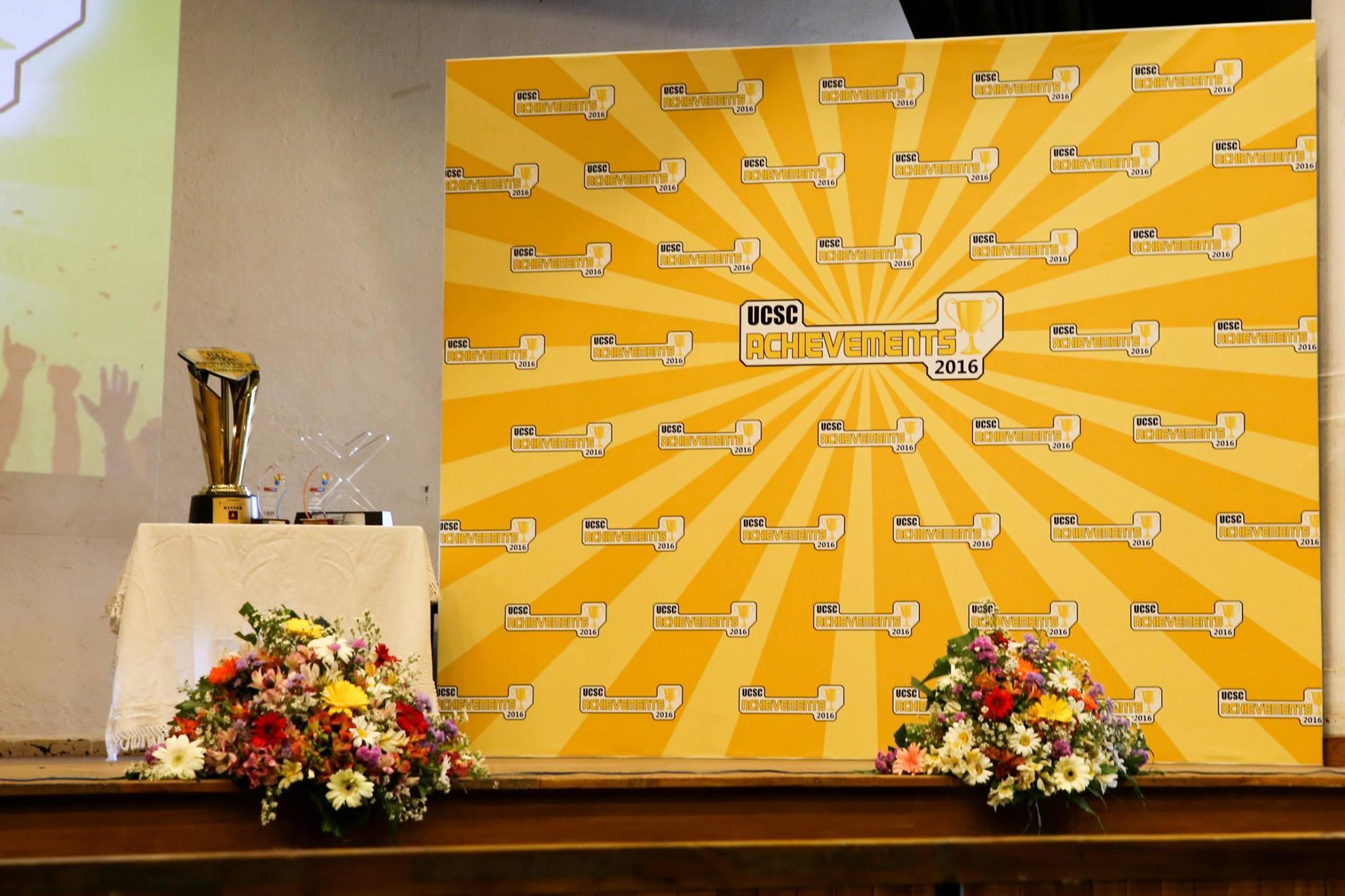 Students' award ceremony UCSC