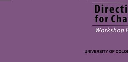 University Governance Workshop Report