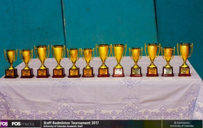 Staff Badminton Tournament 2017