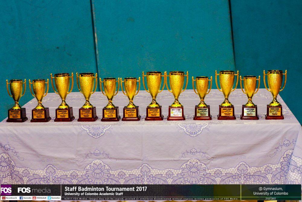 Staff Badminton Tournament 2017