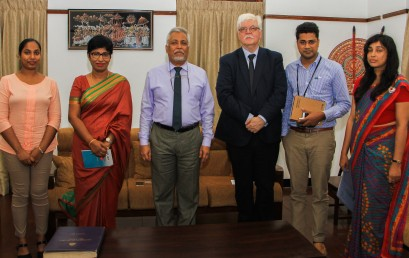 University of Glasgow to collaborate with University of Colombo
