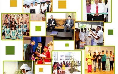 University of Colombo, News Letter September – 2017