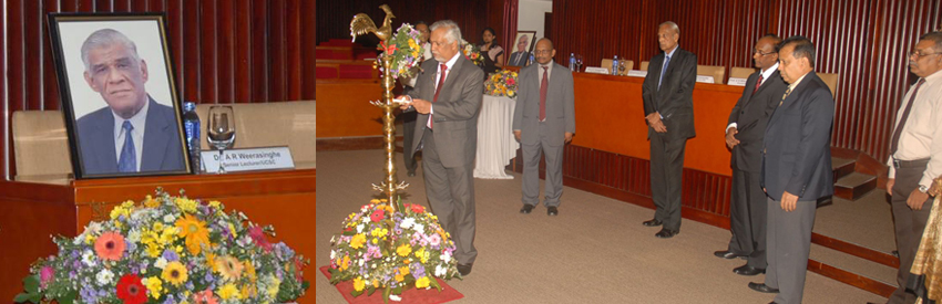 Vidya Jyothi Prof. V. K. Samaranayake Memorial Oration 2015