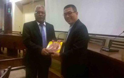 Delegation from National Sun Yat Sen University, Taiwan visits University of Colombo