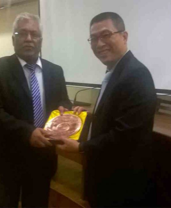 Delegation from National Sun Yat Sen University, Taiwan visits University of Colombo