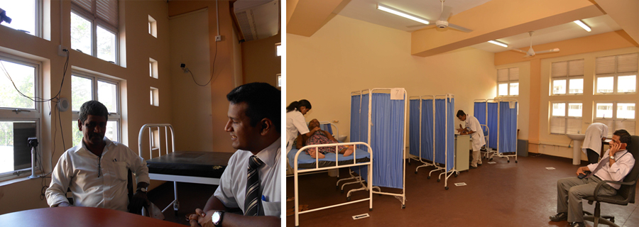 The web-monitored CCTV camera system is being used to monitor simulation programs for doctor-patient interviews at the Faculty of Medicine