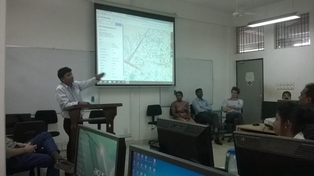 Workshop on Geospatial Applications in Development & Mapping with OpenStreetMap