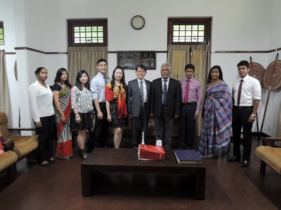 Delegation from Taiwan Medical university to Faculty of Medicine