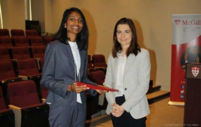 Ms Achalie Kumarage receives Colin B. Picker Prize by the Younger Comparativists Committee of the American Society of Comparative Law