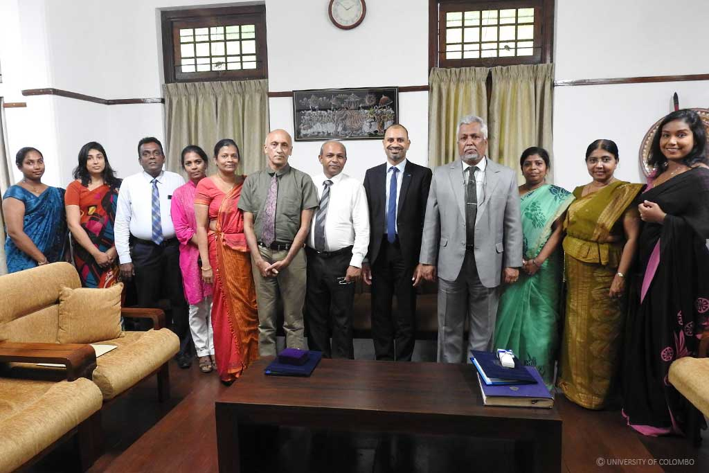 University of Colombo signs a cooperation agreement with Justus Leibig University, Germany