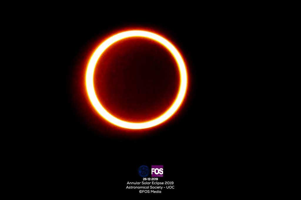 Annular Solar Eclipse 2019
